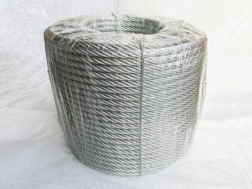 Galvanised Steel Wire Rope Cable 16MM 6x15 (200M Coil 6 x 15 Rigging Marine)